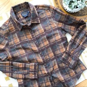 Pendleton plaid light weight button down SP